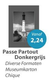 Passe Partout Donkergrijs