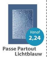 Passe Partout Lichtblauw