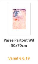Passe Partout Wit 50x70cm
