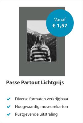 Passe Partout Lichtgrijs
